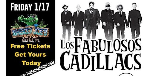 Los Fabulosos Cadillacs Tribute by Dr Calavera January 17th @ Whiskey Joe's
