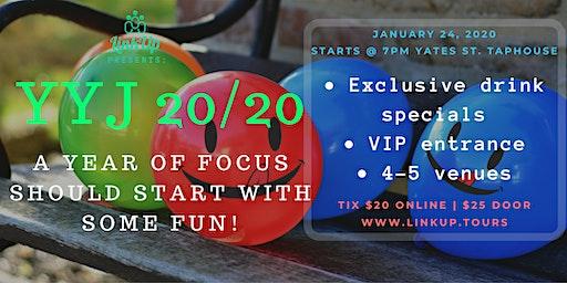 Pub Crawl YYJ 20/20 - A year of focus should start with a bit of fun!