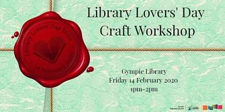 Library Lovers' Day Craft Workshop tickets