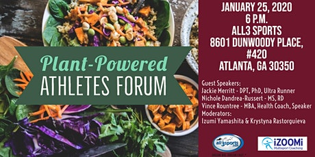 SOLD OUT: Plant-Powered Athlete Forum tickets