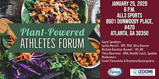 SOLD OUT: Plant-Powered Athlete Forum
