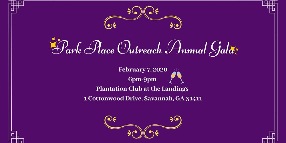 Park Place Outreach Gala to End Youth Homelessness Tickets ... on chatham square savannah georgia, henry street new life now, henry street new york,