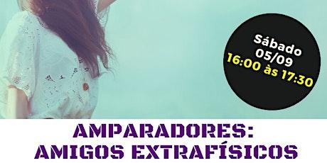 """Palestra Gratuita: """"Amparadores: Amigos Extrafísicos."""" ingressos"""