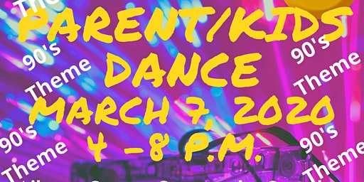 Never Counted Out Inc. (NCO) presents Parents/Kids Dance (90's theme)