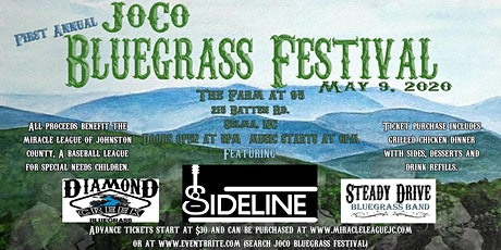 First Annual JoCo Bluegrass Festival tickets