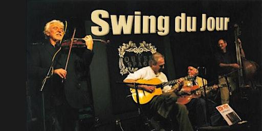 """Swing du Jour""  Gypsy JazZ  7pm Thu Feb 20  Music of Reinhardt & Grappelli"
