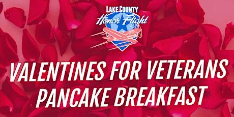 LCHF Valentines for Veterans Pancake Breakfast tickets