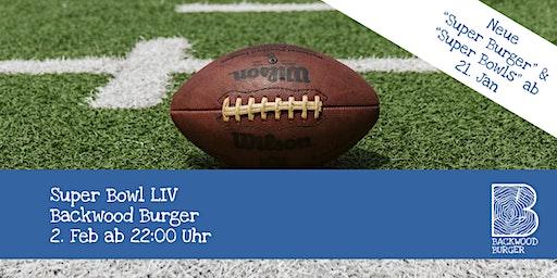Super Bowl LIV im Backwood Burger