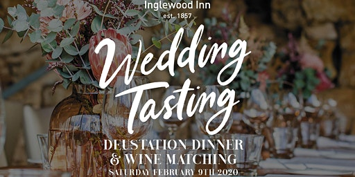 Wedding Taste Night at the Inglewood Inn
