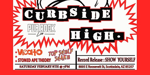 Curbside High Record Release Show