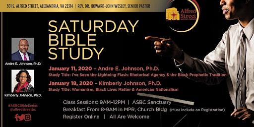 ASBC Saturday Bible Study Series Continental Breakfast