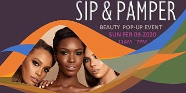 SIP & PAMPER Beauty Pop Up