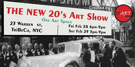 The New 20's Art Show Day 2 tickets
