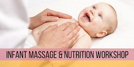 Infant Massage & Nutrition Workshop tickets