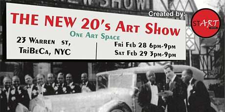 The New 20's Art Show Day 1 tickets
