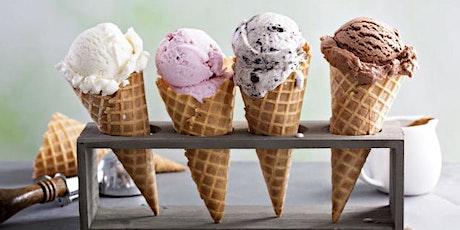 Adult Ice Cream & Boards at Peeboo & Beanie Gormet Ice Cream  N Royalton tickets