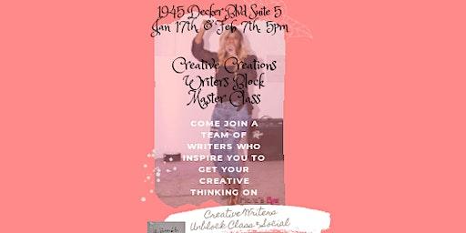 Creative Creations Writers Block Master Class