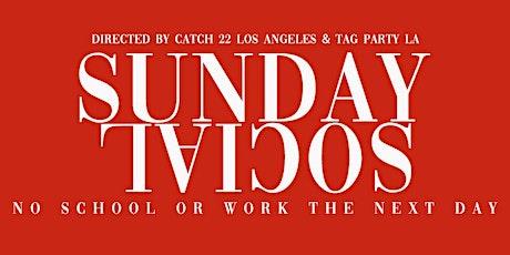 Sunday Social inside Apt 503 presented by Catch 22 LA & TAG Party LA tickets