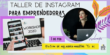 Instagram Workshop - para emprendedoras entradas
