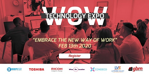 "WOW Technology Expo - ""Embrace The New Ways of Working"""