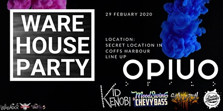 WAREHOUSE PARTY FT OPIUO tickets