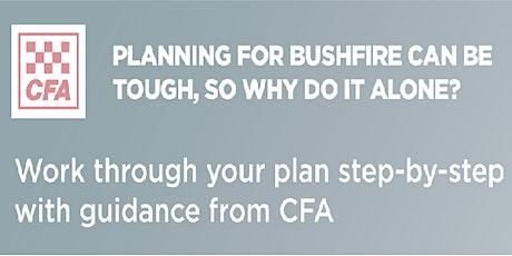 Emerald CFA Seasonal Update and Bushfire Planning Workshop tickets