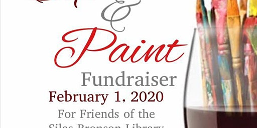 Sip & Paint Fundraiser for Friends of the Silas Bronson Library