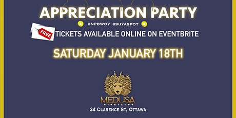 FREE B.B.E & NP PROD. APPRECIATION PARTY (THANKS  FOR YOUR SUPPORT ) tickets