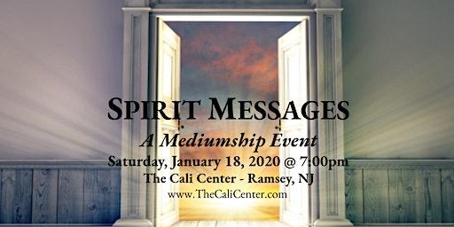 Spirit Messages, A Mediumship Event