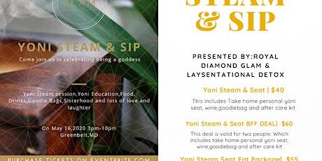 Yoni Steam & SIp tickets