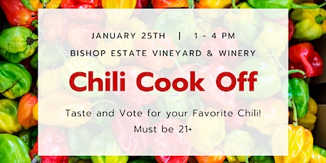 Chili Cook Off at Bishop Estate Vineyard and Winery tickets
