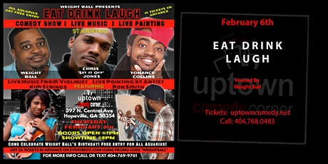 Eat Drink Laugh tickets