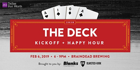 The Deck 2020 Kickoff Party + Happy Hour tickets