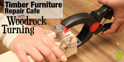 Timber Furniture Repair Cafe with Woodrock Turning