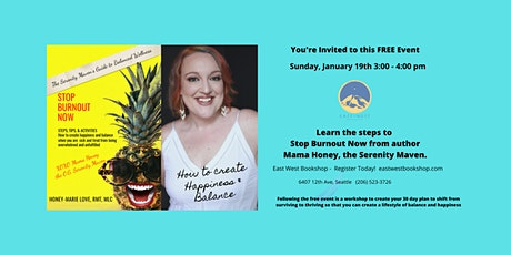 Local Author Event & Book Singing: Steps to Create Happiness & Balance tickets