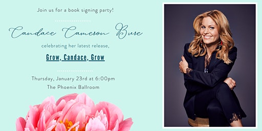 Candace Cameron Bure Book Signing Party