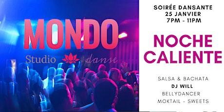 Noche Caliente - Soirée danse Latine billets