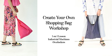 Sew Your Own Eco-Friendly Shopping Bag 45min One on One Workshop tickets
