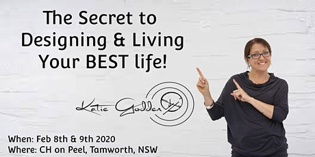 The Secret to Designing & Living Your BEST life tickets