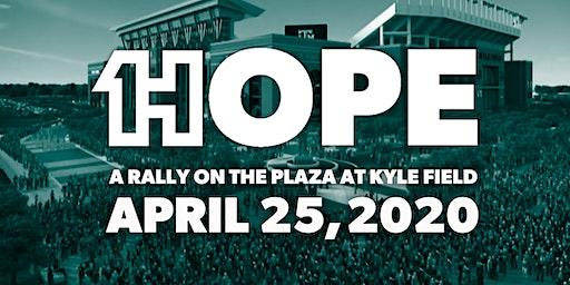 ONE HOPE 2020