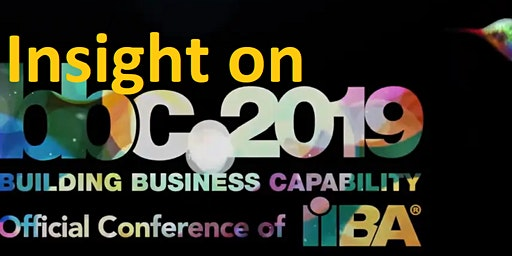 Insights from BBC 2019 Conference