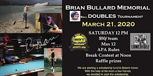 Brian Bullard Memorial 8 Ball Scotch Doubles Tourn