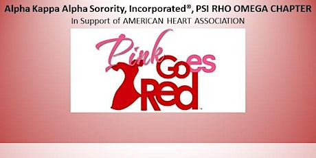 2020 Pink Goes Red - A Healthy Heart, Body & Mind Forum tickets