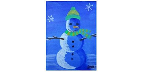 Kids Paint| Snowmen at Night | $15-$20