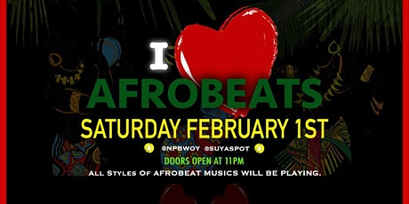 I ❤️ AFROBEAT PARTY. (AFROBEAT LOVERS) tickets