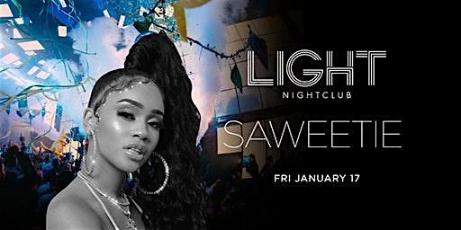 LIGHT NIGHTCLUB ** RAPPER SAWEETIE - FRIDAY, JANUARY 17TH