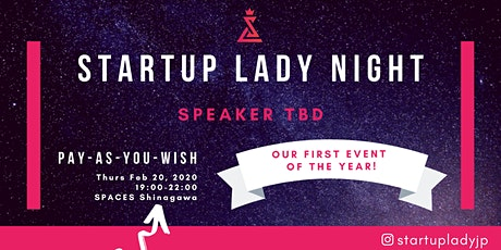 Startup Lady Night tickets