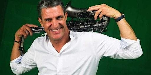 Saxophonist Jordan Chalden