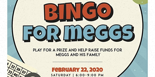 1st Annual                              Meggs Foundation Bingo Night