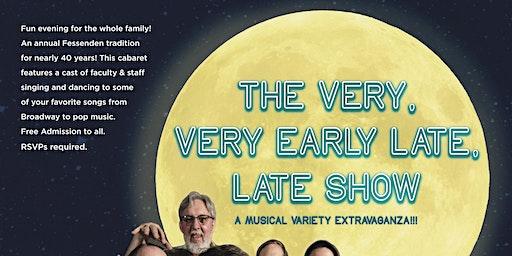 The Staffulty Cabaret (Saturday Night)